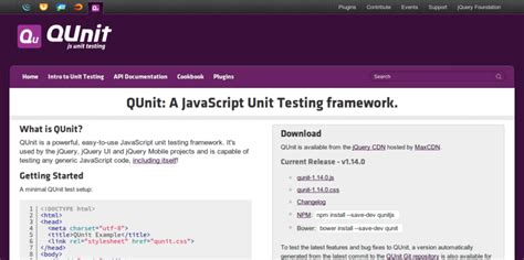 javascript qunit tutorial 4 js unit testing frameworks to test your code with