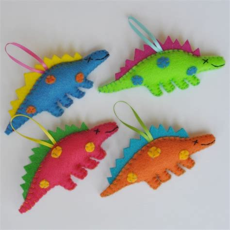 how to make dinosaur christmas ornaments dinosaurs