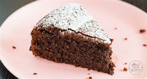 kuchen rezepte einfach und schnell mit wenig zutaten schokoladenkuchen ohne mehl backen macht gl 252 cklich