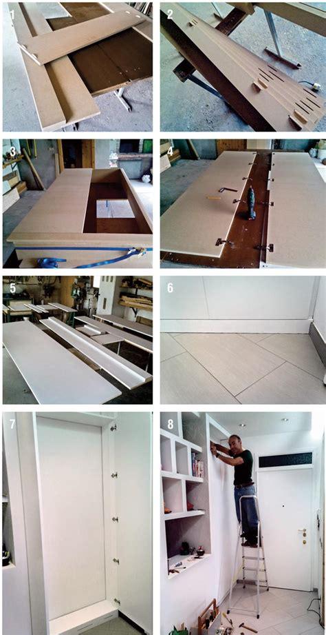 creare armadio come creare un armadio a muro interesting armadio muro