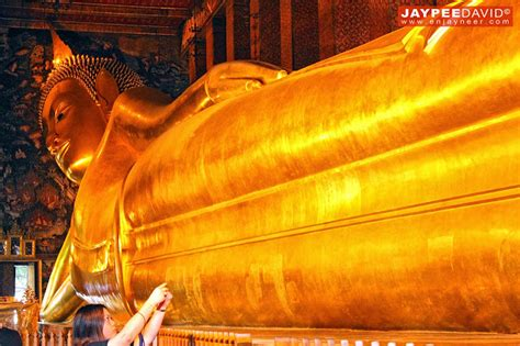 largest reclining buddha in the world the giant golden reclining buddha of wat pho bangkok