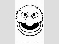 grover templates - Google Search   J's 2nd birthday ... Elmo Face Coloring Page