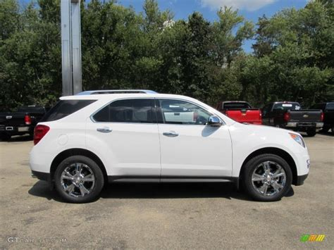 chevrolet equinox white summit white 2013 chevrolet equinox ltz awd exterior photo