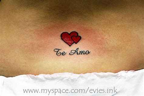 te amo tattoo designs te amo flickr photo