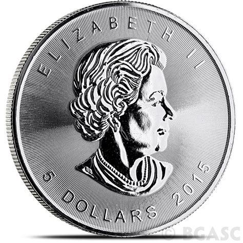1 Oz 2015 Canadian Maple Leaf Silver Coin - buy 2015 1 oz silver canadian maple leaf bullion coin