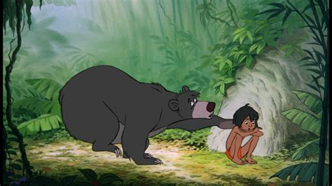 cartoon film jungle book deja view frank s baloo mowgli