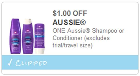 printable aussie hair product coupons aussie coupon
