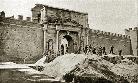 breccia di porta pia 1870 20 settembre 1870 la breccia di porta pia agenzia comunica