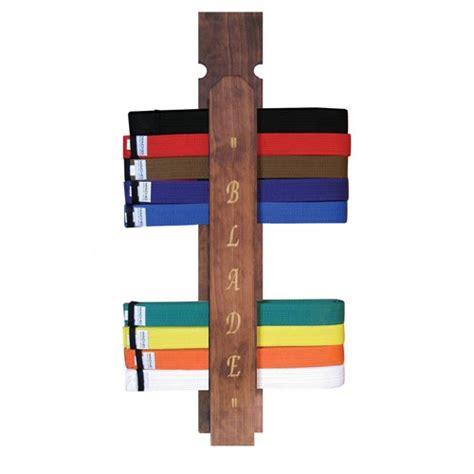 Martial Arts Belt Display Rack by Blade Martial Arts Belt Rack Display