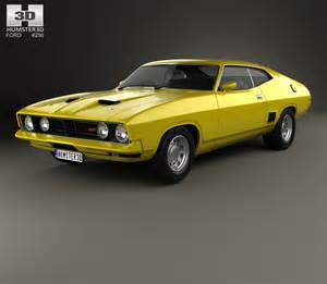 1973 Ford Falcon Ford Falcon Gt Coupe 1973 3d Model Humster3d