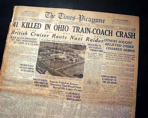 doodlebug crash 1940 doodlebug disaster rarenewspapers