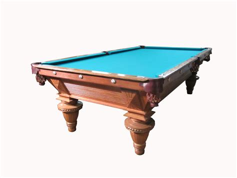 antique pool table lot detail brunswick antique 1890 s pool table