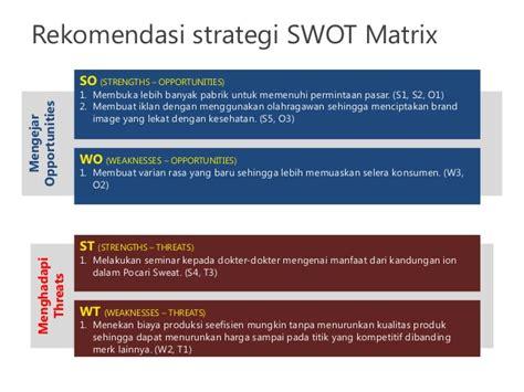 analisis swot untuk penyusunan strategi upload share analisis swot space matrix untuk pt amerta indah otsuka