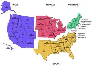 5 regions of map how are the five regions determined in the us 2017