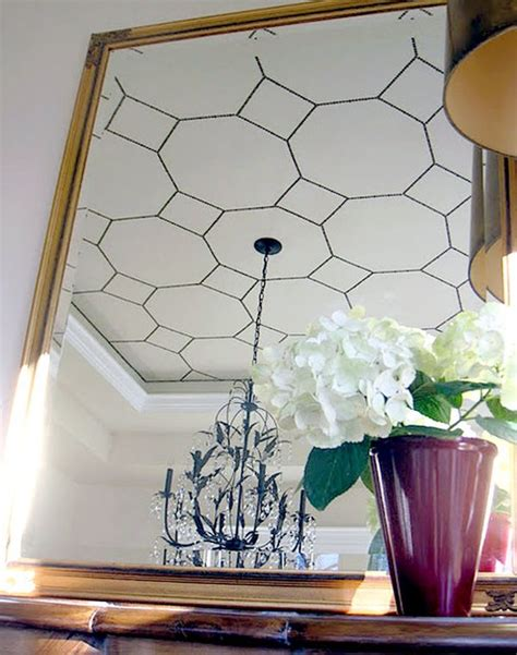 Diy Ceiling Decor by Chic Shape Using Octagons In Home Decor