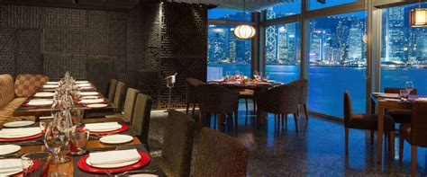 Dining Room Contemporary Cucina Restaurants Amp Bars Marco Polo Hongkong Hotel
