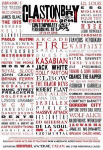 glastonbury festival line ups wikipedia the free glastonbury festival announce 2014 line up
