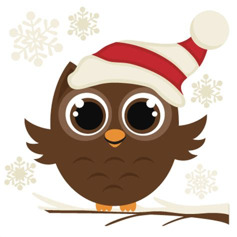 christmas owl pictures winter owl svg cutting file svg files