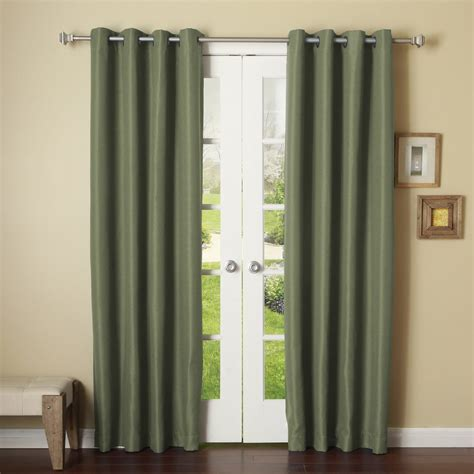 Light Gray Blackout Curtains Light Grey 2 Panels Grommet Thermal Insulated Blackout Window Curtain Drape 46x84