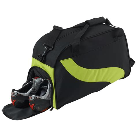 bag with sneaker compartment wave design duffel bag with shoe compartment gkonline