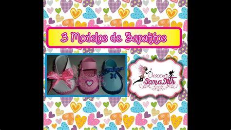 zpatitos para baby shower en goma eva las manualidades como hacer 3 modelos de zapatitos en fomi o goma eva youtube