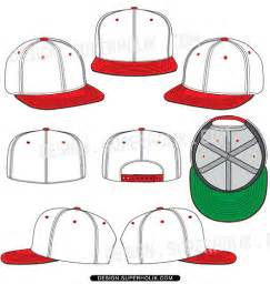 snapback template snapback fitted cap template flickr photo
