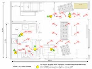 effectiveness of recessed downlights in open plan lounge area