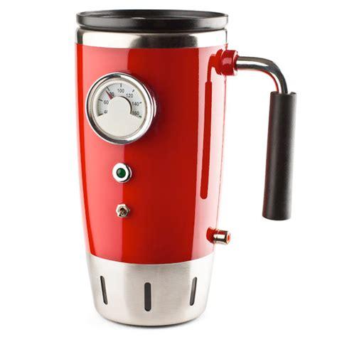 heated coffee mug rod heated mug the awesomer