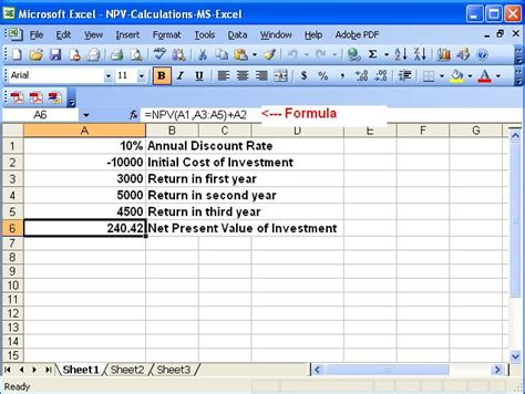 excel tutorial npv help jenny decide npv solution in ms excel excel vba
