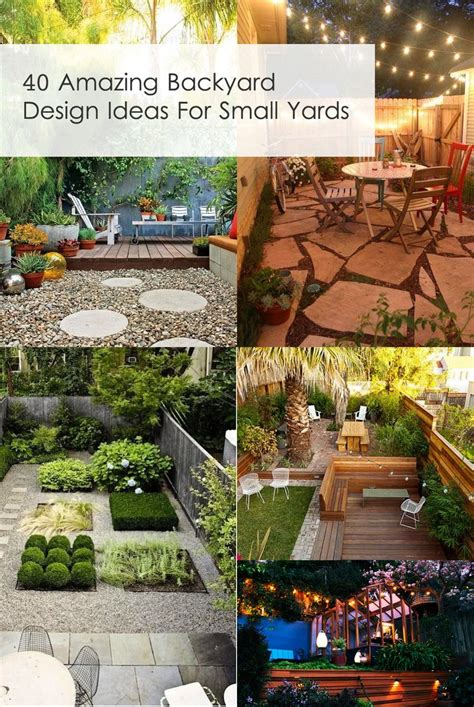 ideas for small backyard 25 best ideas about small backyard landscaping on