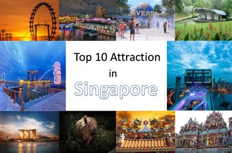 top  popular attractions  singapore