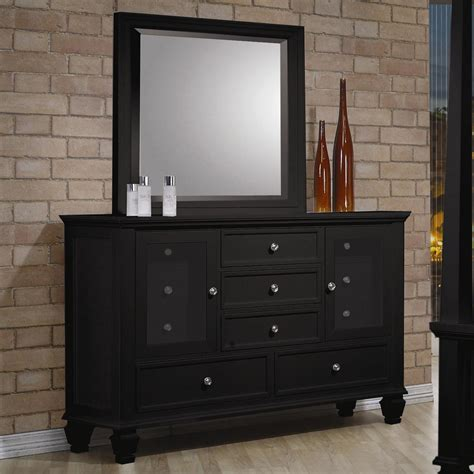 coaster sandy beach 201309qmcn 3 pc bedroom set with queen bedroom sets sandy beach black 4 pc sleigh storage