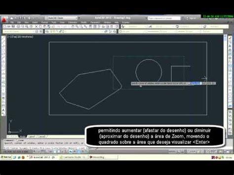 autocad tutorial zoom video tutorial sobre a ferramenta zoom do autocad 2012