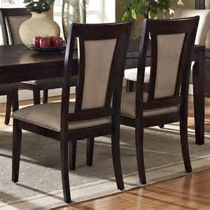 Espresso Dining Room Set Steve Silver Wilson 7 Piece 60x42 Dining Room Set In