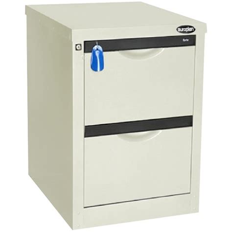 Officemax Filing Cabinets by Europlan 505w Forte Filing Cabinet 2 Drawer White