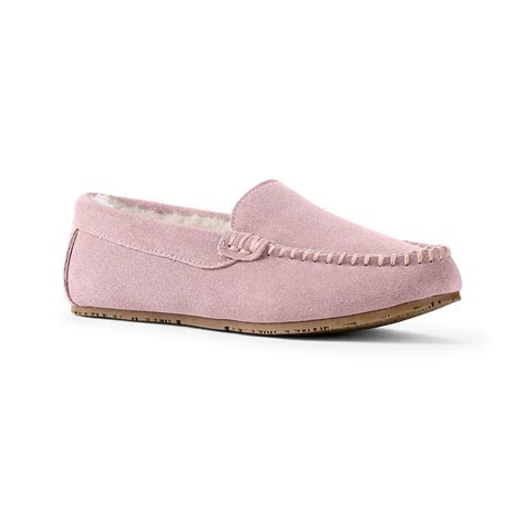 lands end womens slippers lands end s suede moc slipper review pros and