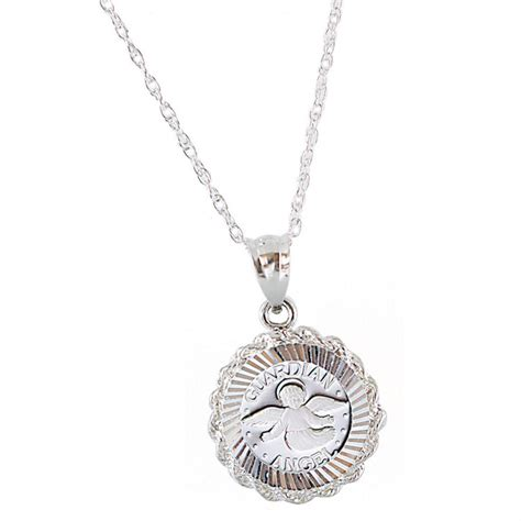 Guardian Necklace Sterling Silver Guardian Pendant 232746 Jewelry