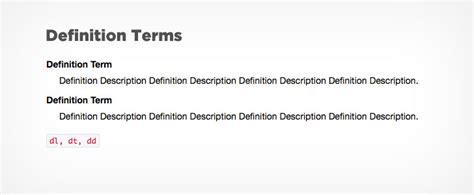 design lingo meaning typography framework update simon web design