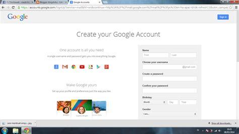 membuat akun gmail anda blogdiriku
