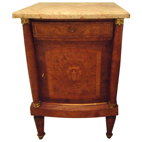 pretty tables pretty antique french nightstand at 1stdibs