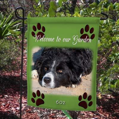 personalized photo yard flags custom picture garden flags