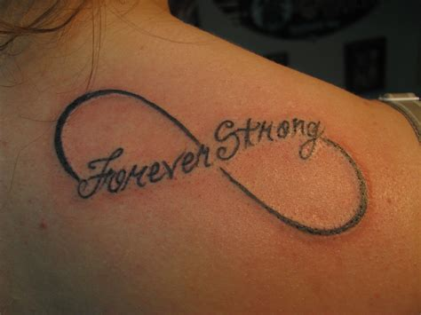 tattoo infinity infinity tattoos with quotes on shoulders quotesgram