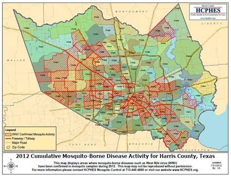 harris county texas zip code map state health department urges precautions to reduce west nile exposure local zip codes affected