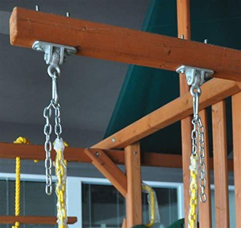 porch swing hooks jungle gym kingdom 2 heavy duty swing hangers for wooden