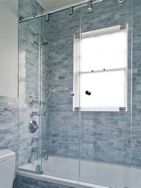 Shower Window Houzz Bathroom Showers With Windows