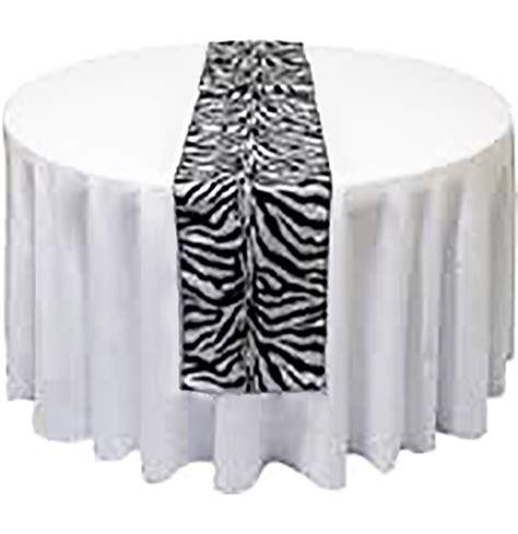 zebra pattern table runner black and white zebra satin table runner sweet 16 party