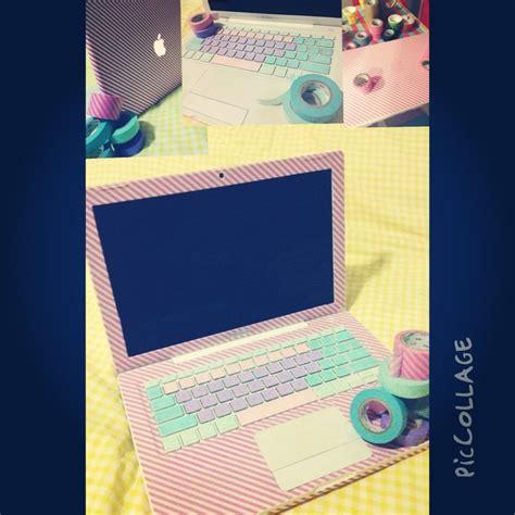 Decorate Laptop by Best 25 Washi Laptop Ideas On Diy Washi