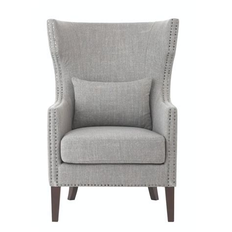 home decorators accent chairs home decorators collection bentley smoke grey linen