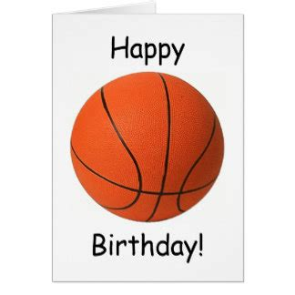 Basketball Birthday Cards Basketball Birthday Cards Photo Card Templates