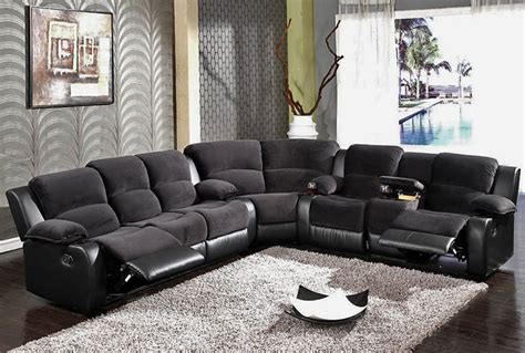Recliner Sofa On Sale by Black Recliner Sofa Sectional Sf 6001 S3net Sectional